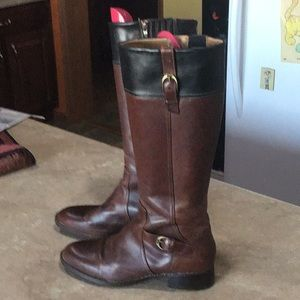 ARIAT Riding Boots Size 11B Dark brown with black